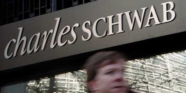Charles Schwab saw trading accounts surge 31% in one month after slashing commission fees - Business Insider