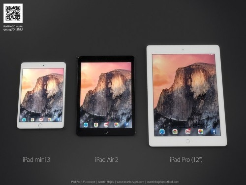 We just got the first big piece of evidence that the rumors about a huge iPad are true