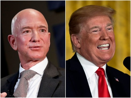 Amazon and Microsoft face risks as Trump steps into the DoD JEDI deal