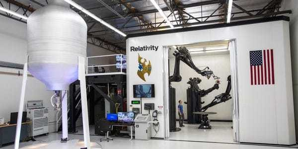 Relativity Space is working on a 'Stargate' system to print rockets - Business Insider