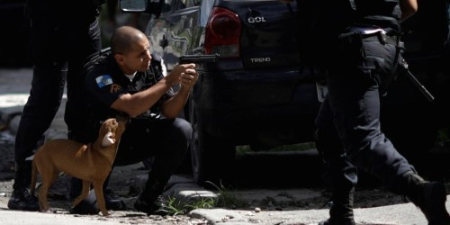 Brazil is taking an 'extreme measure' to confront crime in Rio — the first time it's done so since the country's dictatorship fell