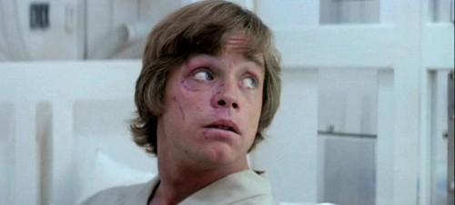 'The Empire Strikes Back': Mark Hamill's face