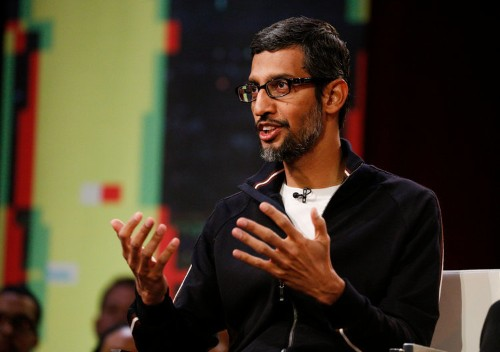 After one year of Trump, Google CEO Sundar Pichai sounds a lot different about immigration — and that may be a good thing