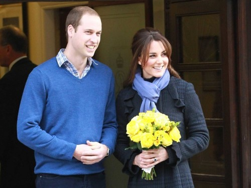 William And Kate Release First Statement Thanking Hospital Staff