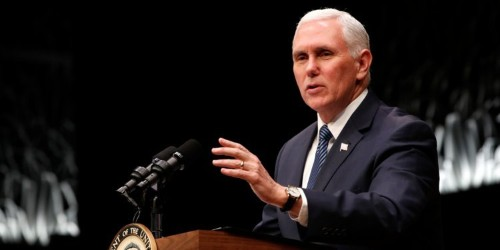 Pence: all options remain on the table' for US response to Iran