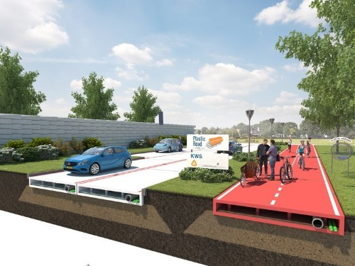 A Dutch city has come up with a genius plan that could eventually eliminate asphalt roads