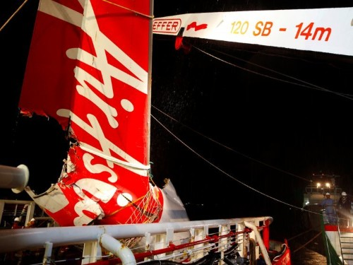 An AirAsia passenger-jet crash that killed 162 people was caused in part by 'flight crew action'