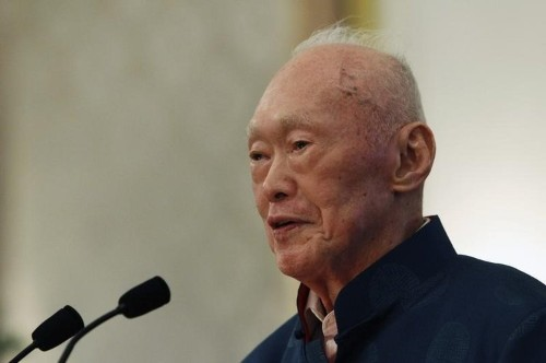 A towering figure in post-colonial Asia has passed away