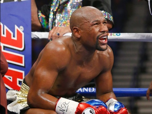 Report: Floyd Mayweather used a banned IV one day before Manny Pacquiao fight