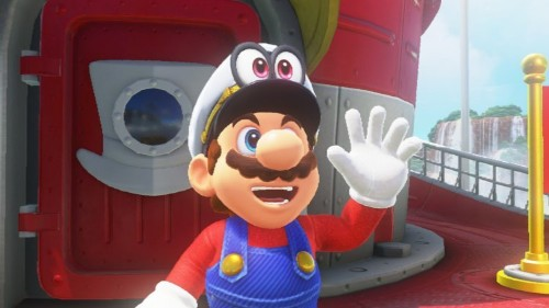 The best moment in the new Mario game is an incredible homage to a gaming classic