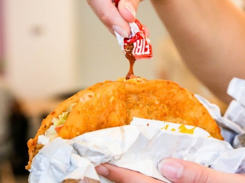 Taco Bell's new Toasted Cheddar Chalupa is everything we wanted