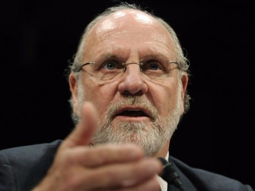Former MF Global CEO Jon Corzine gave college students a big speech on success and failure