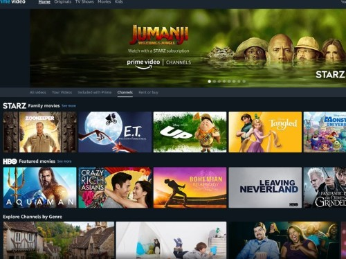 Overview: Amazon Prime Video Channels — what it is, how much it costs