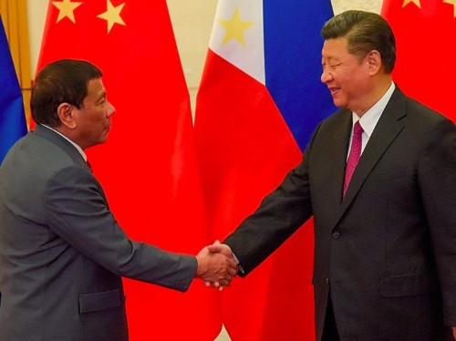 The Philippines is starting damage control after Duterte claims China threatened war