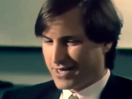 Here's a young Steve Jobs giving the best advice on hiring, success and failure
