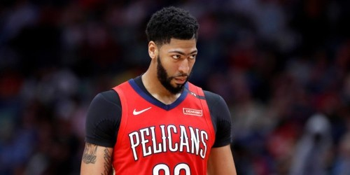 The Anthony Davis trade saga that rocked the NBA world is still hanging over the league on its biggest weekend