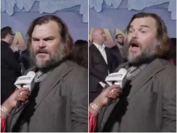Jack Black forgot he was in 'The Holiday' when asked what his favorite Christmas movie was - Business Insider
