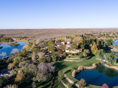 T. Boone Pickens' ranch was listed for $250 million in 2017: Photos