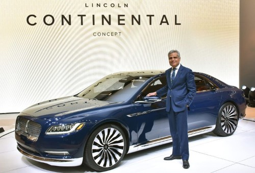 Lincoln is outperforming the luxury auto market