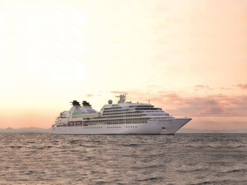 A new luxury world cruise will take you to 62 ports over 146 days. Here's a look at the ship, where rooms go for $67,000 per person.