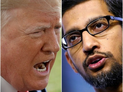 'I lead this company without political bias': Google's CEO will send a message to Trump during Congress grilling