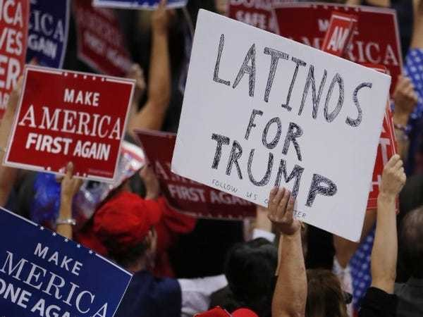 A third of Latino voters still support GOP, despite Trump's rhetoric - Business Insider