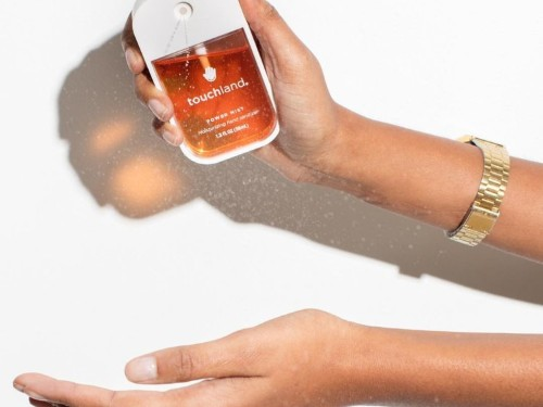 Touchland Hand Sanitizer Spray Review: moisturizes, no alcohol smell