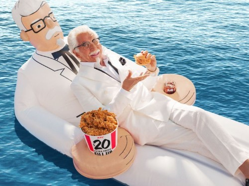 How KFC picks who to play Colonel Sanders, according to KFC president