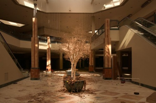 These photos of abandoned malls and golf courses reveal a new era for the American suburb