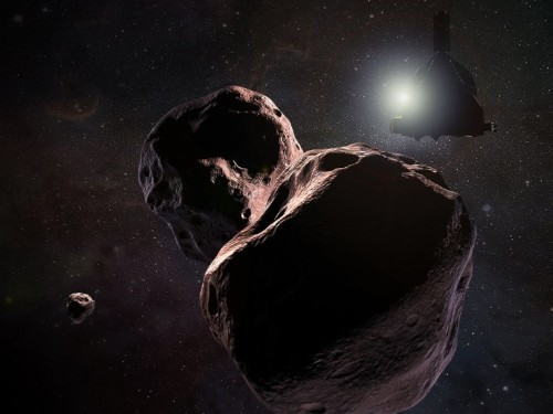 NASA releases first close-up images of distant object Ultima Thule