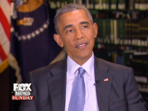 Fox News anchor Chris Wallace pushes Obama on ISIS comments