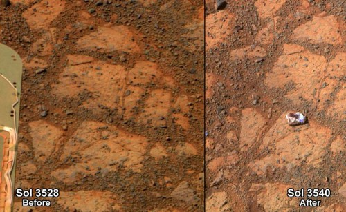 NASA Has Determined Where The Mysterious Jelly-Doughnut Rock On Mars Came From