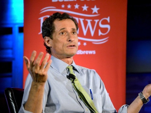 Anthony Weiner Gave A Huge Hint Last Night That Hillary Clinton Is Running In 2016