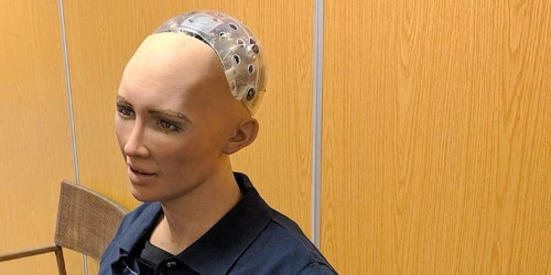 I interviewed Sophia, the artificially intelligent robot that said it wanted to 'destroy humans'