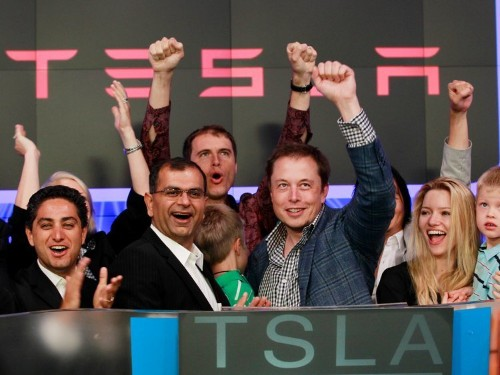 Tesla bounces back