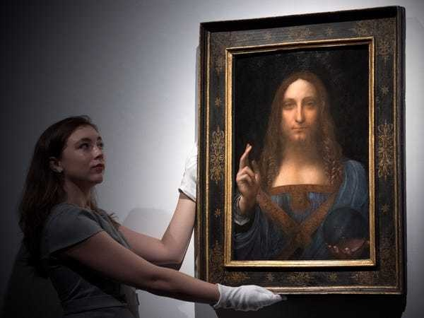 How a lost Leonardo da Vinci painting went from $59 to $450 million - Business Insider