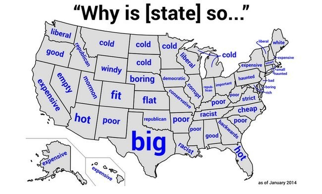 Why Is Nebraska So...Boring? Google Autocompletes For Every State