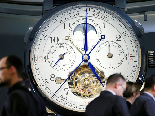 One of the world's biggest luxury watch shows is undergoing major changes in 2020 - Business Insider