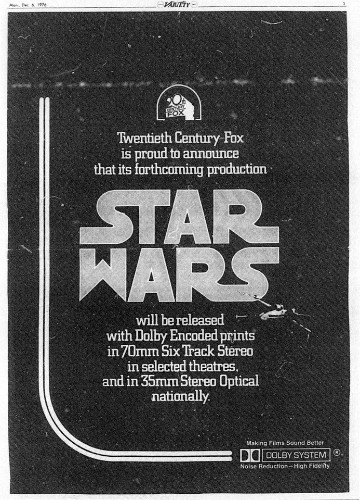 Here Are The Original 'Star Wars' Casting Announcements From 1977