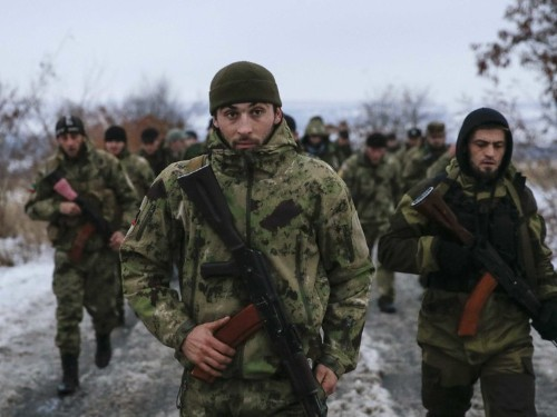 The pro-Russia separatist regions just named Crimea as part of Ukraine