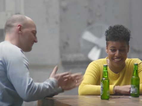 A Heineken commercial puts Pepsi's 'protest' ad to shame