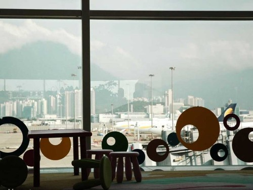 Tour Hong Kong's Awesome Airport, Home To A 9-Hole Golf Course And An IMAX Theater