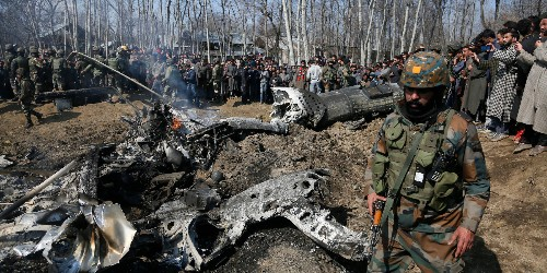 Pakistan closes airspace, says it shot down 2 Indian jets over Kashmir