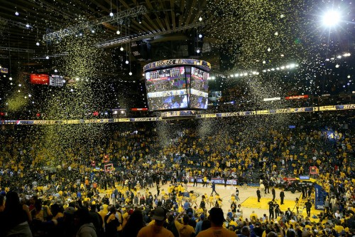 A Warriors fan snuck into courtside seats all season for just $100 per month in clever scheme