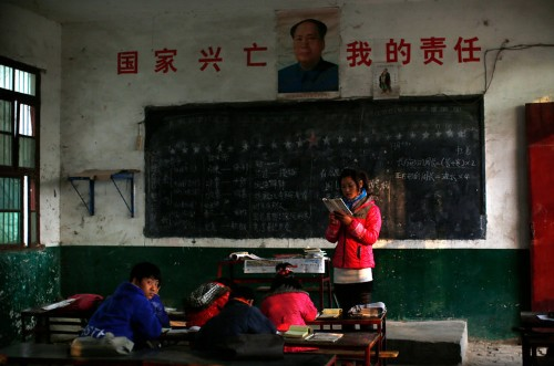 A group of teachers went to China and realized that the West is instructing students wrong
