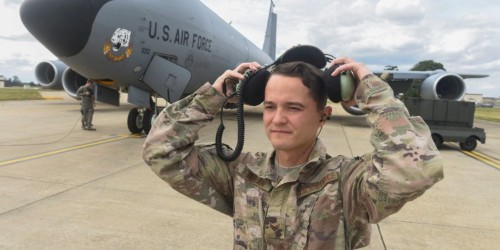 Air Force tests headset that uses wearer's bones to transmit sounds