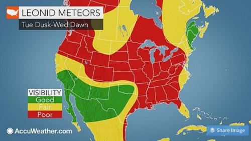 There's a spectacular meteor shower happening this week