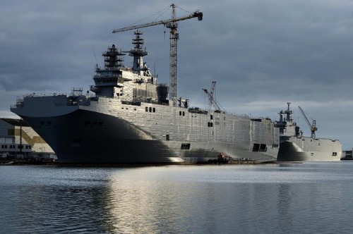 France sells warships to Egypt, after Russia deal scrapped