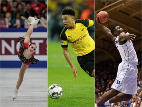 15 teenagers who are taking the world of sports by storm in 2019