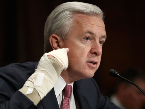 Wells Fargo has one heck of a scandal on its hands